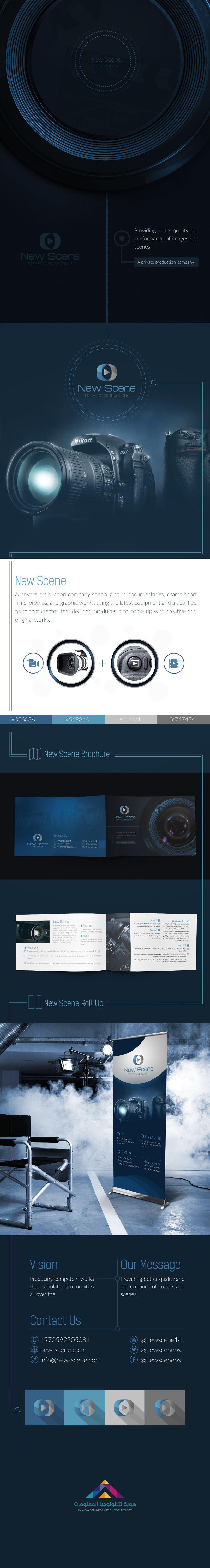 New Scene Logo & identity