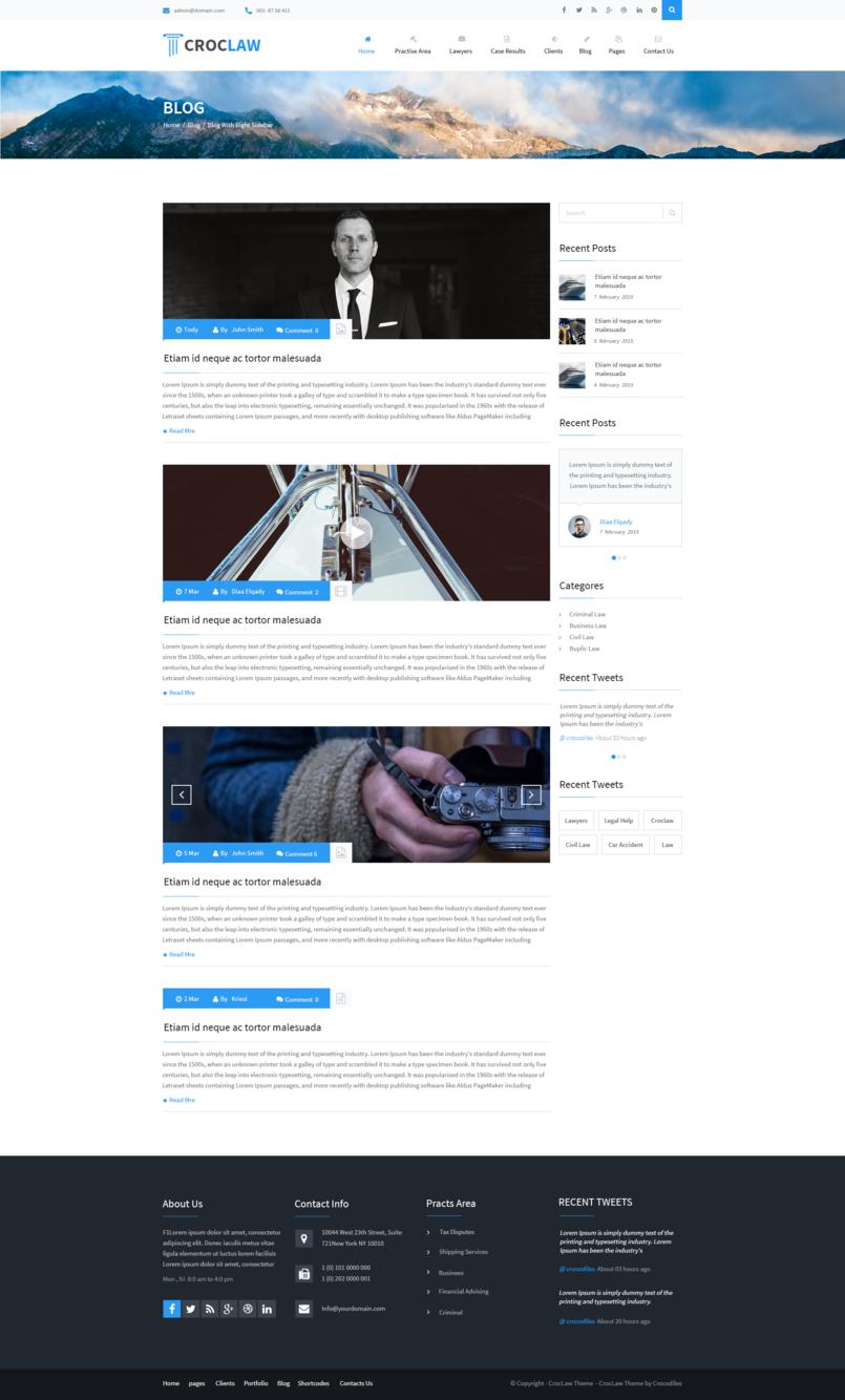 Blog Right Sidebar