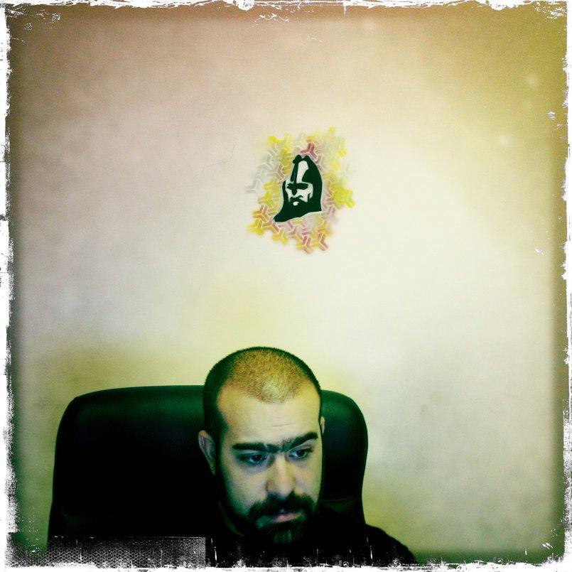 Immortal Entertainment office stencil - stencil