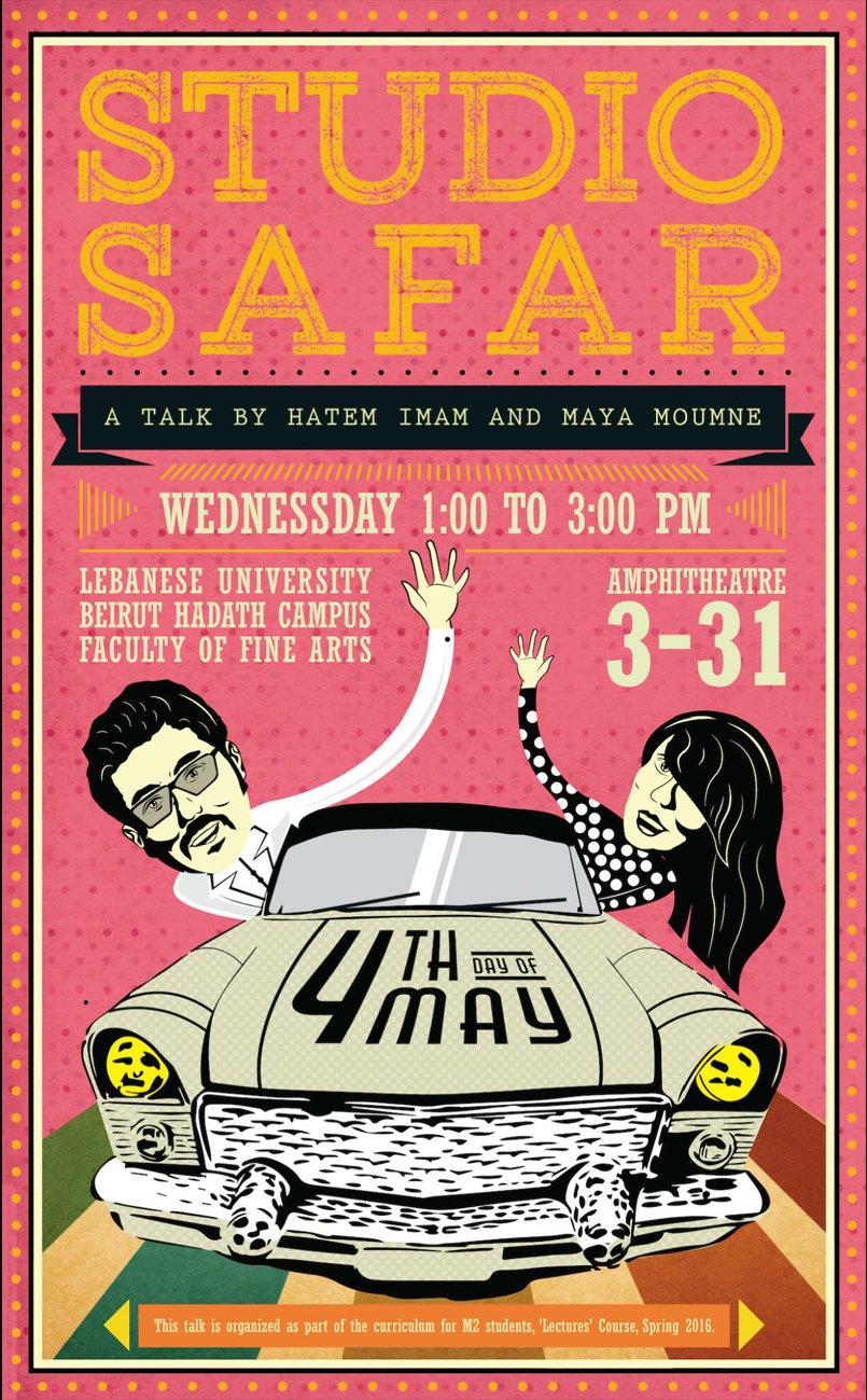 Studio Safar/ facebook Invitation Post