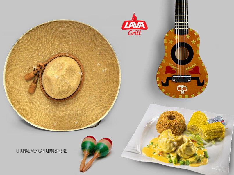 المطعم المكسيكي