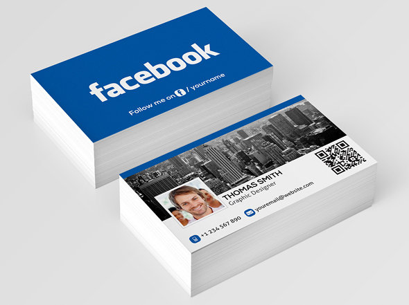 Facebook Business Card Demo