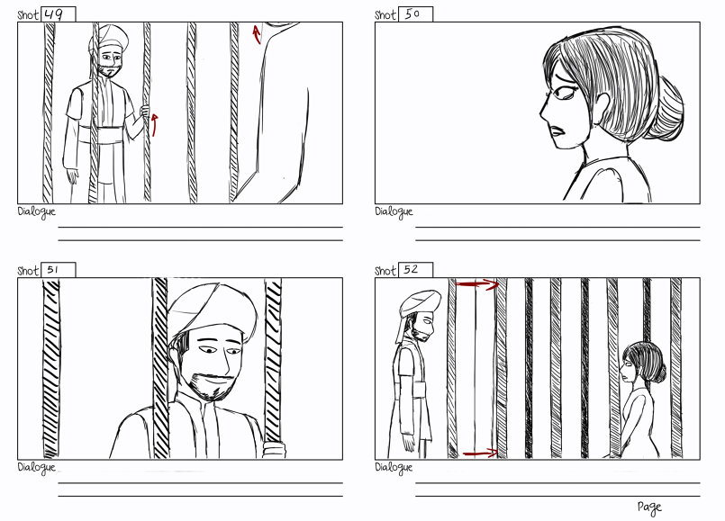 The Mechanic Horse STORYBOARD