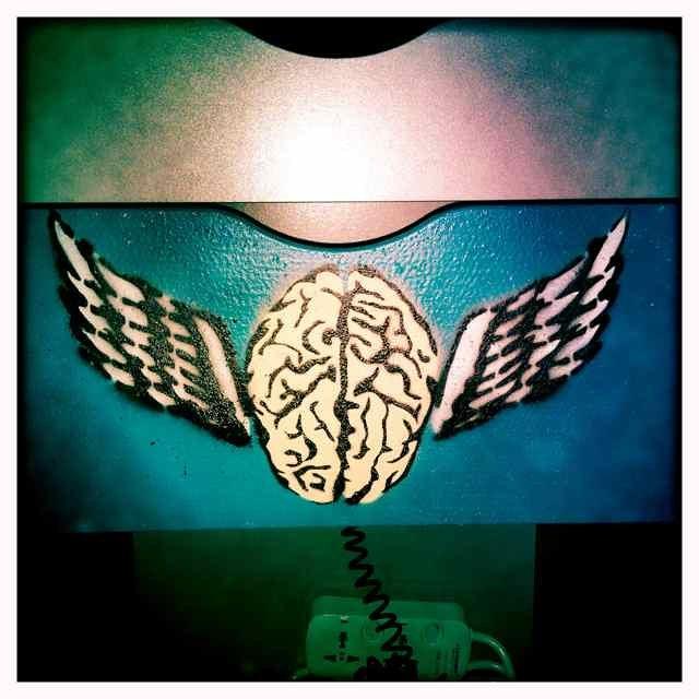 Brain flu logo - where it all started