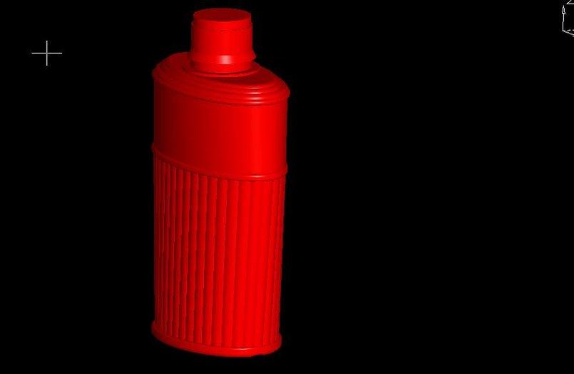 3d bottles ,jar