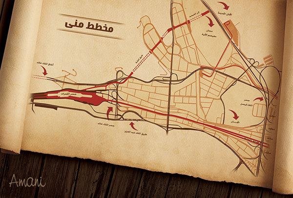 haj map