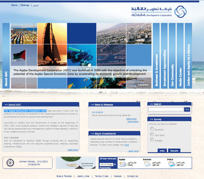 The Aqaba Development Corporation (ADC)