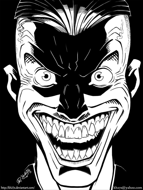 The Joker always makes good practice material!