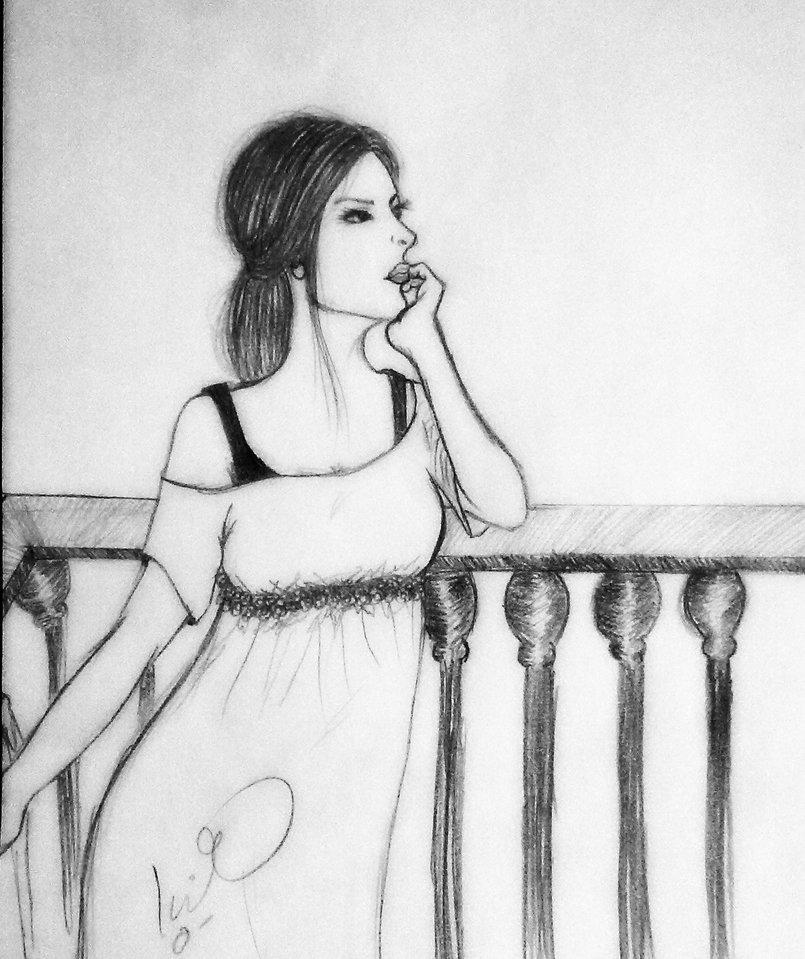 Drawing Girls من تصميم Enas Essam 4710 Enas