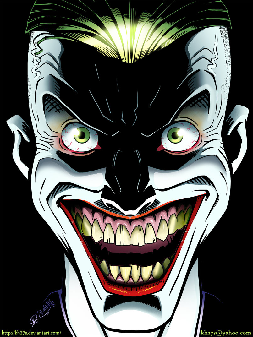 comic book lighting. An Illustration Of The Joker That I Did. Just Experimenting With Color And Lighting. Comic Book Lighting