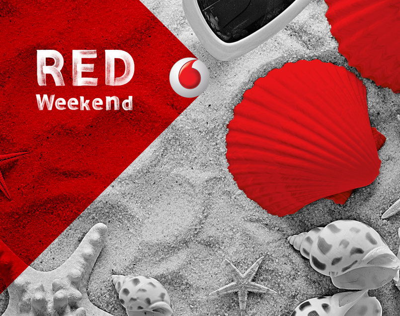Vodafone Red Weekend