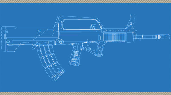 Blue Print - QBZ