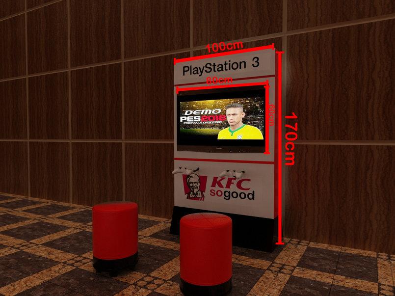 kfc stand
