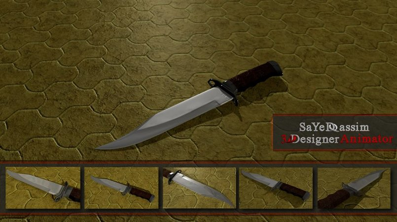 3D modeling أسلحة