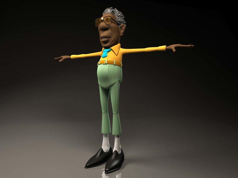 3D character models