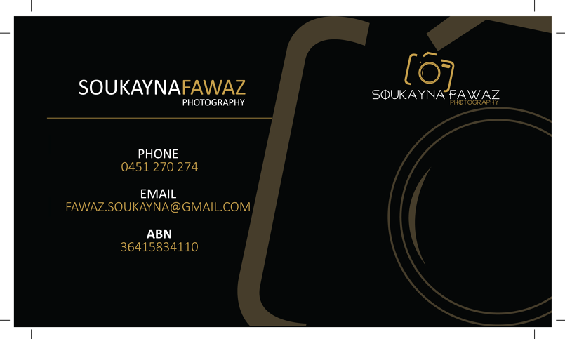 photographer logo and business card