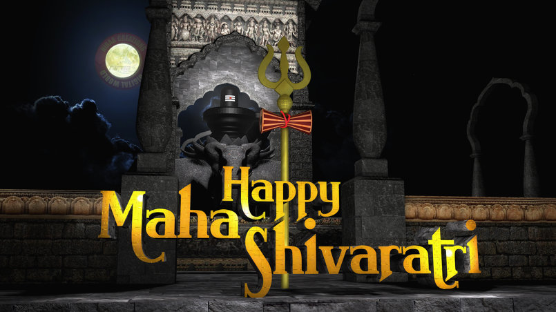 MAHA SHIVARATHIRI WISH CARD