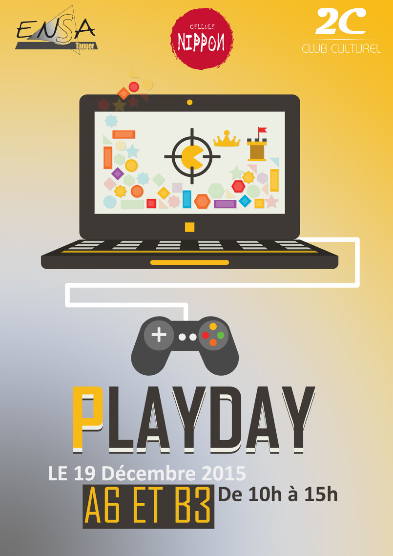PlayDay Event Poster