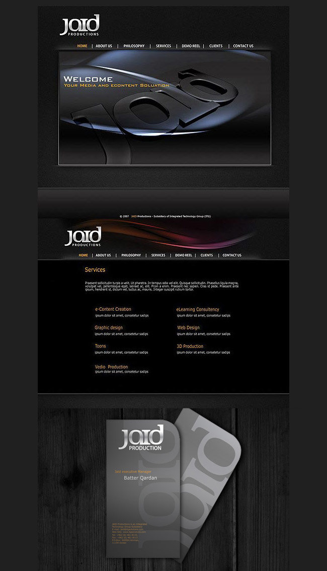 jaid website Branding 2