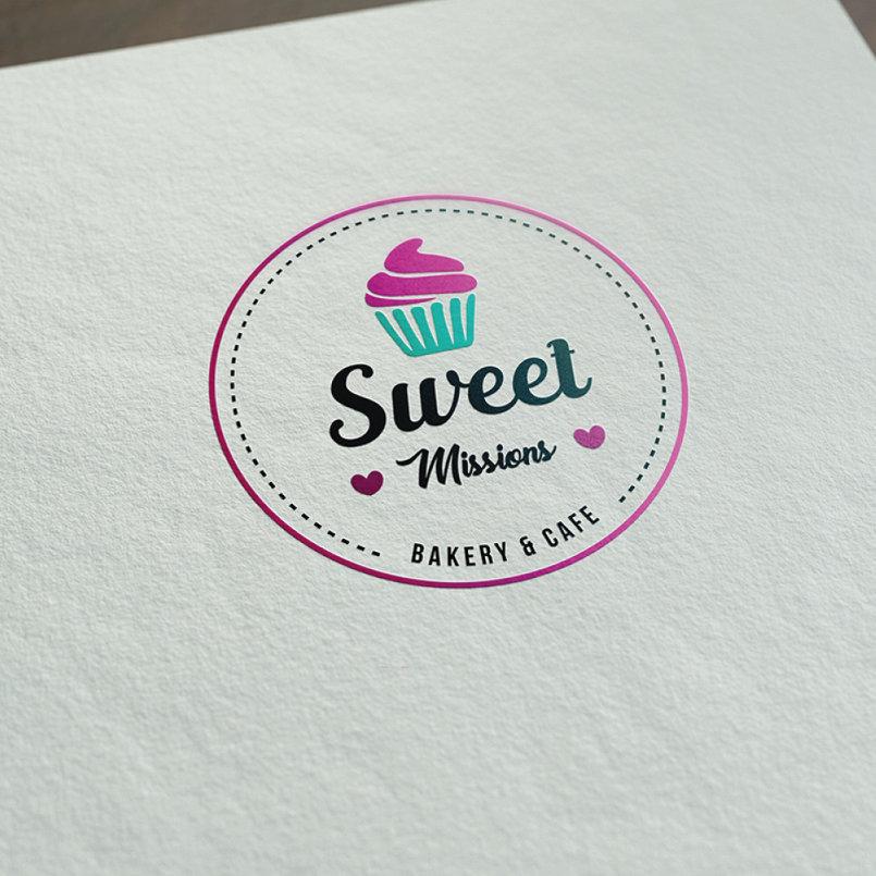 شعار لمخبز حلويات من تصميم محمد سند Mohamedsanad