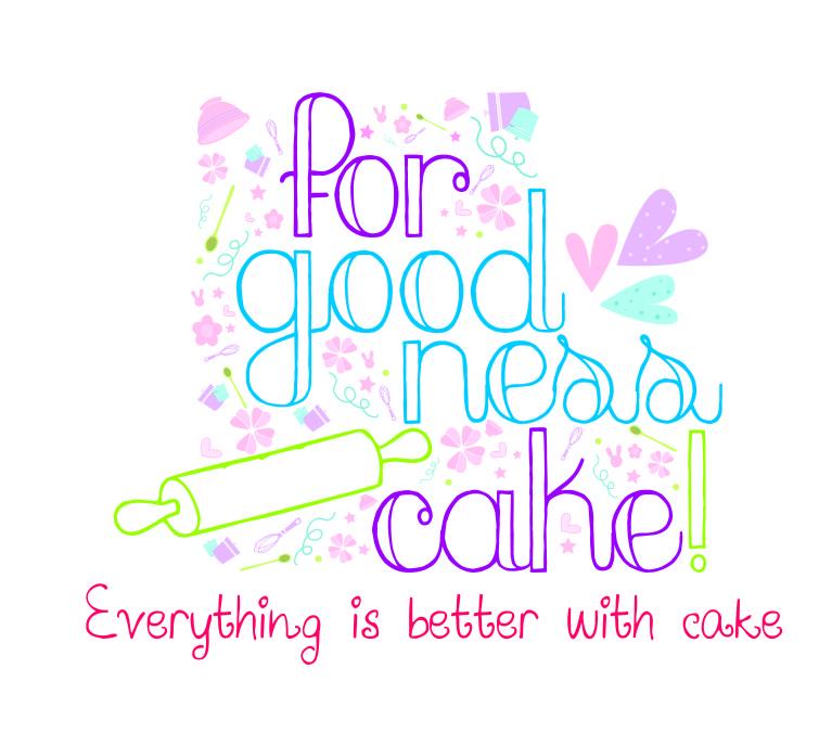 For-goodness Cake