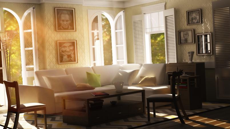 sketchup room