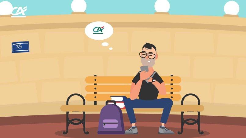 Crédit Agricole Egypt (story board+animation)