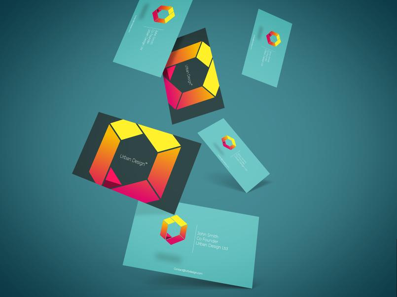 UrbanDesign Ltd Logo and Business Card