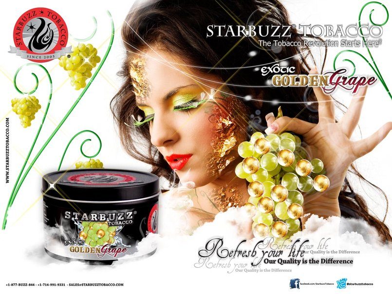 2 - 2 - StarBuzz Golden Grape Poster