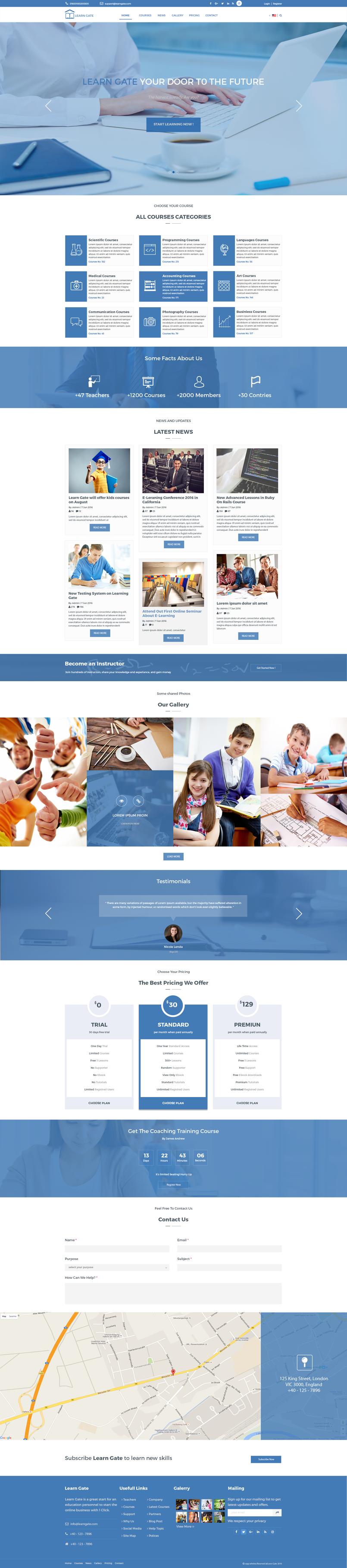 موقع LearnGate