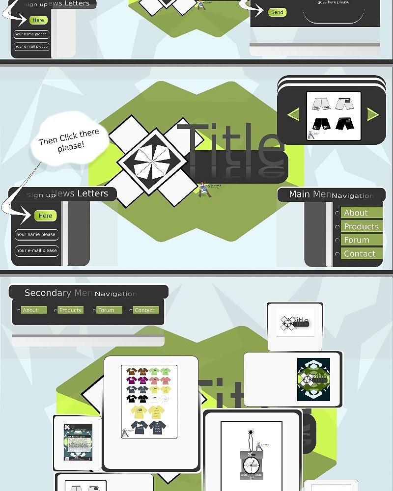 مشروع تصميم هوية شركة ما من الصفر: الويب سايت