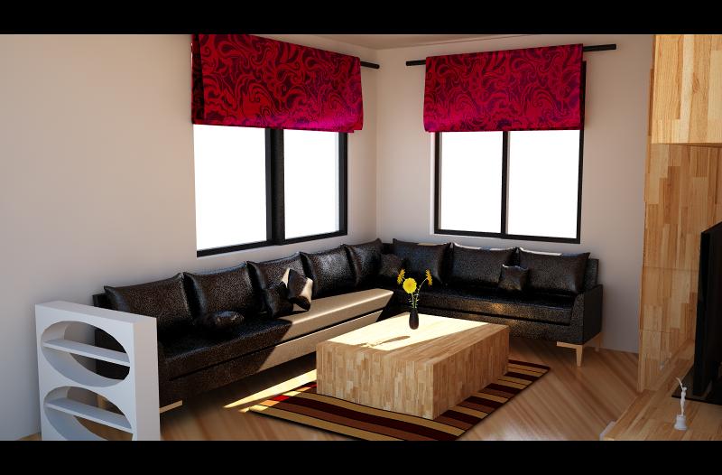 تصميم غرفة
