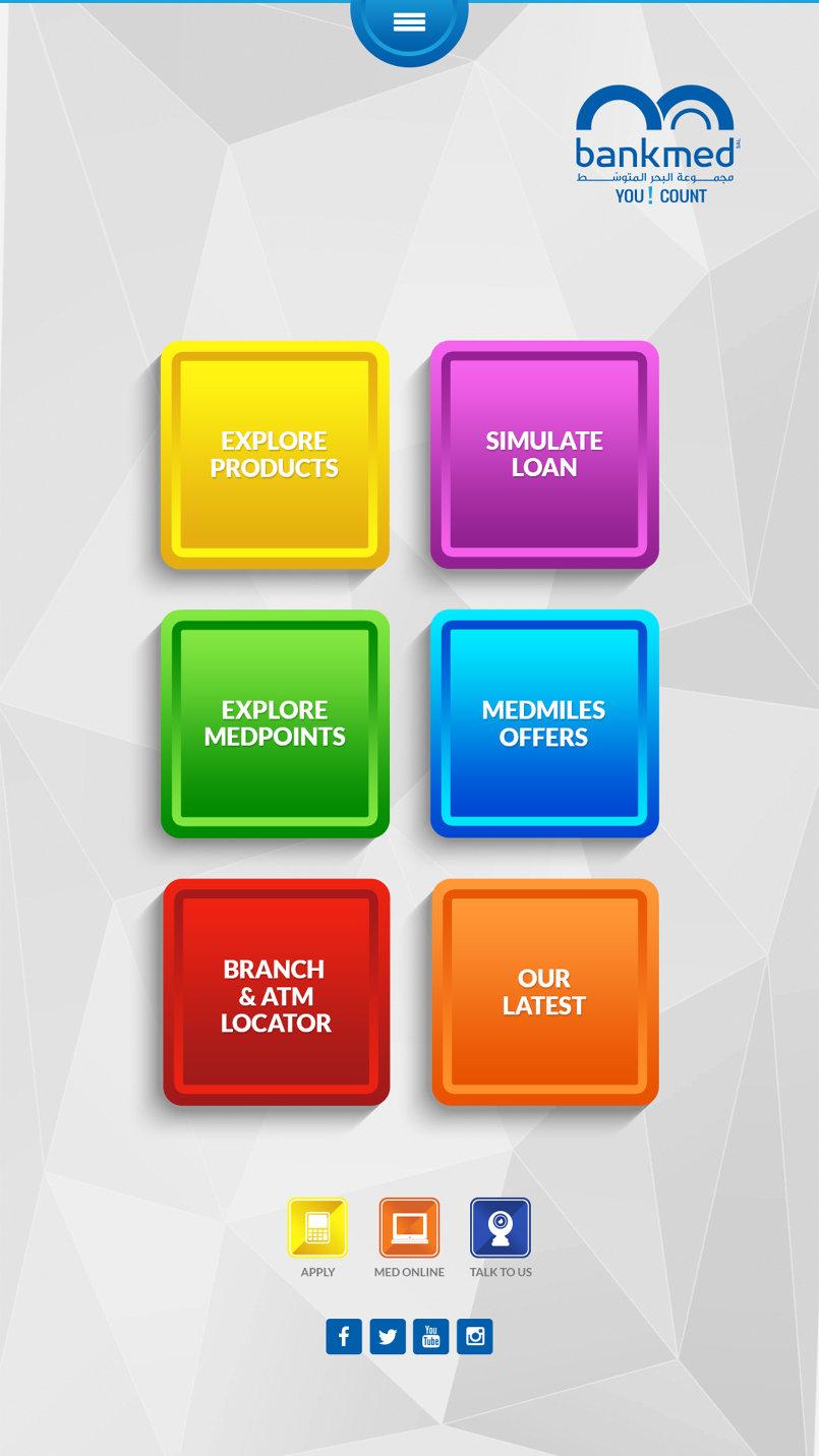 www.bankmed.com