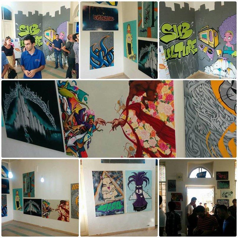 "مشاركتي في معرض ""Subculture "" بالتعاون مع فضاء 317 عمان -الاردن"