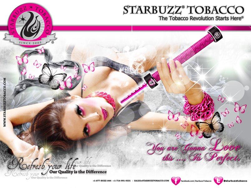 StarBuzz E-Buzz Poster Pink