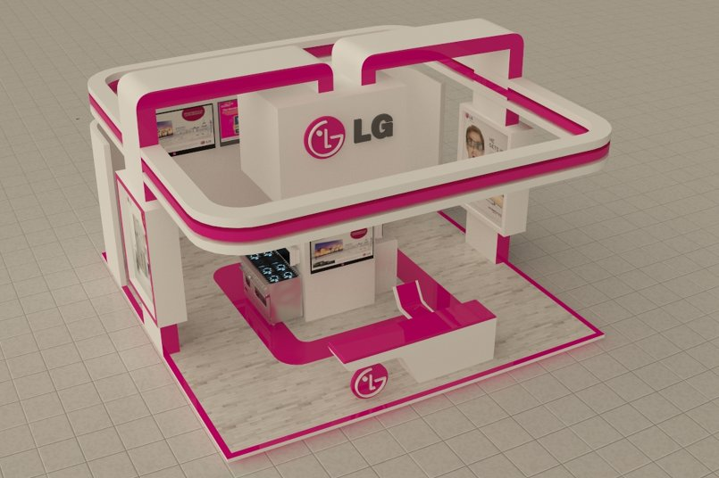 LG Exhibition Stall