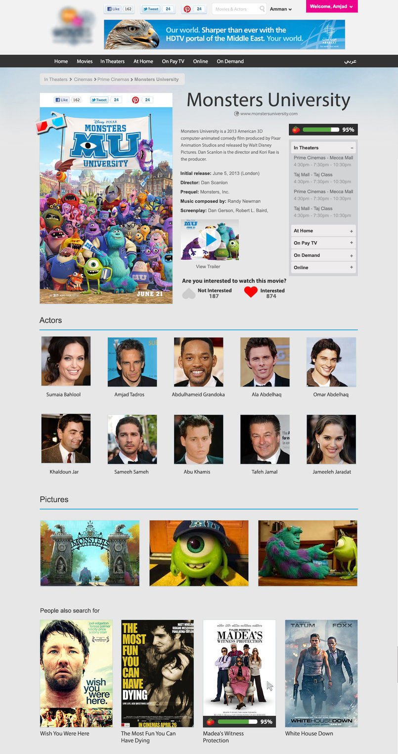 Movies Directory