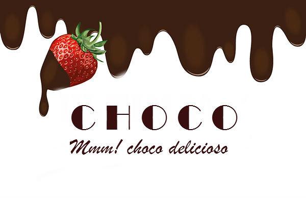 تصميم علامة مميزة للدعاية  غلاف شوكولاطة