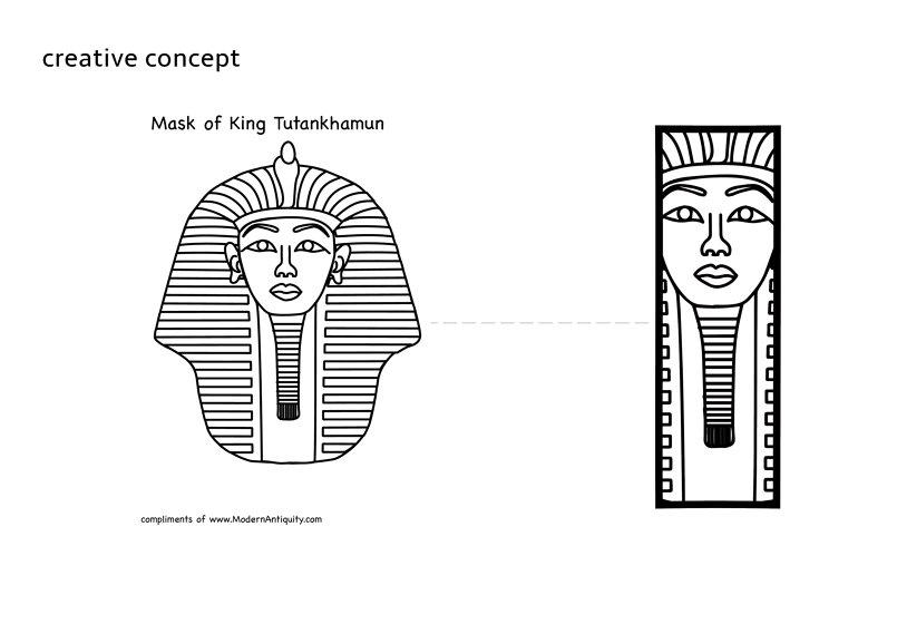 تصميم علامه تجاريه لشركه سياحه تسمى (Egypt's monuments)