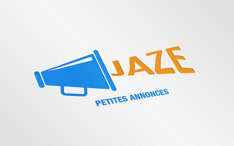 jaze mockup logo