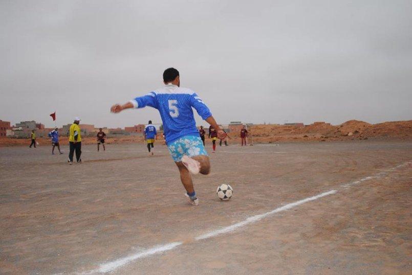 صورة من دوري لكرة القدم من عدستي
