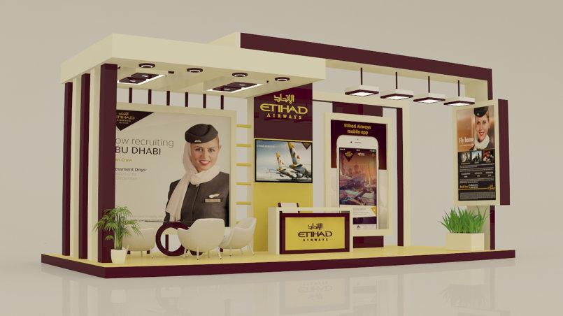 Etihad Airways Exhibition Stall