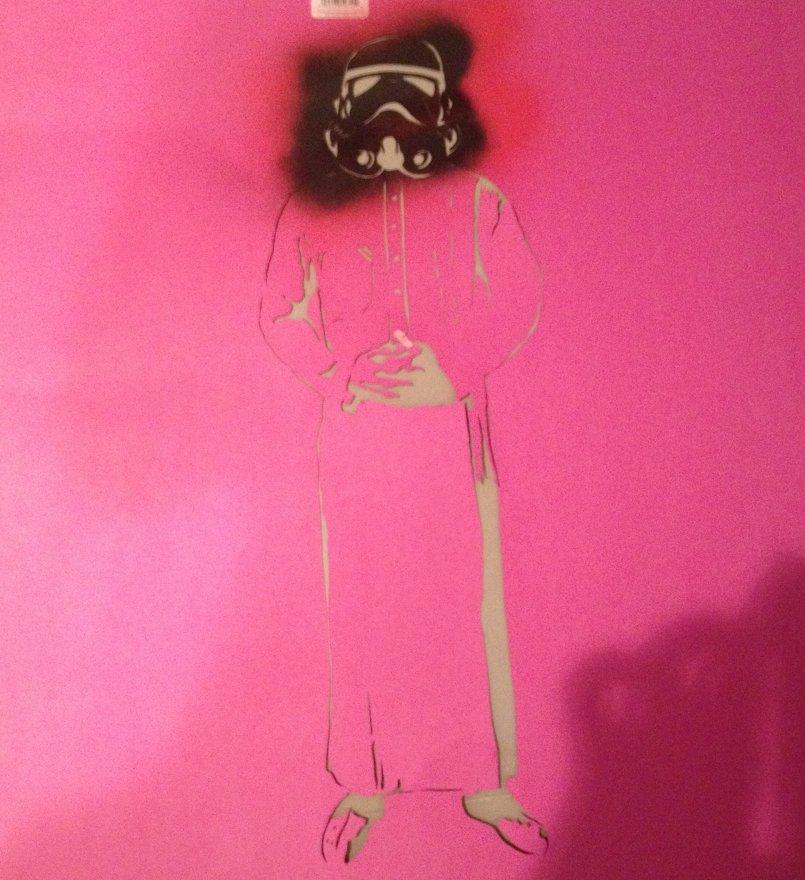Storm Trooper stencil tria;