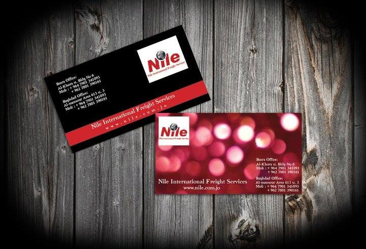 business cards and poster design