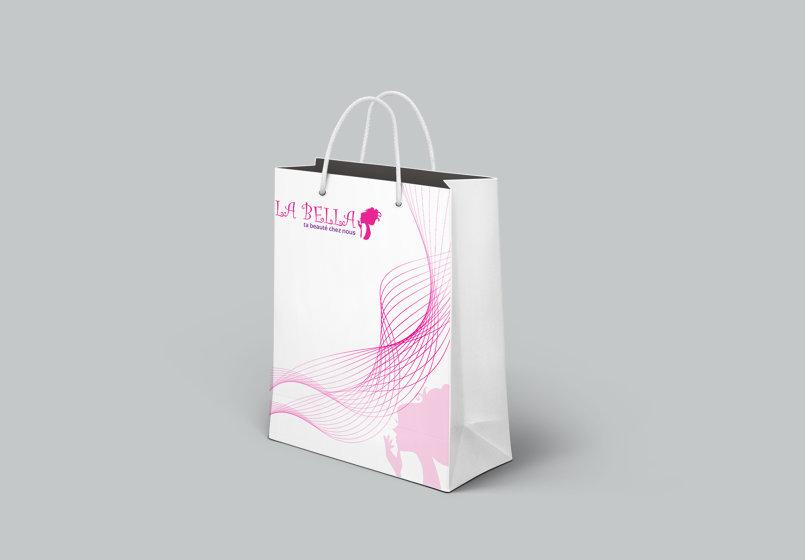 تصميم حقيبة المشتريات