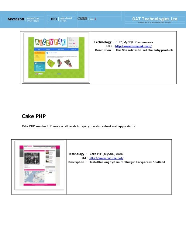 : PHP, MySQL, Joomla
