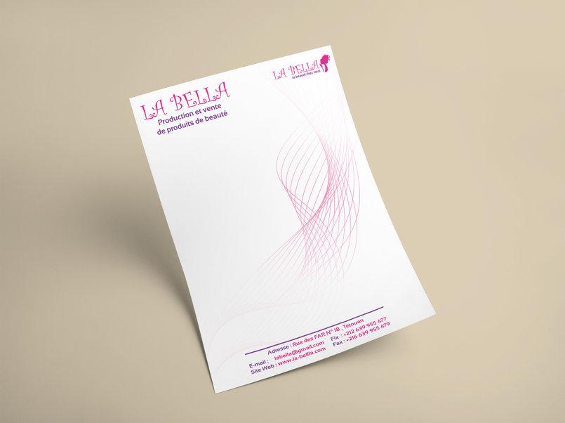 تصميم letterhead