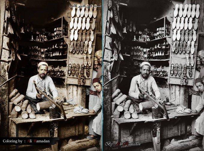 القباقبي - دمشق 1900 - 1920