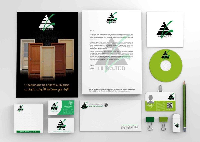 مجموعة تصاميم مطبوعات