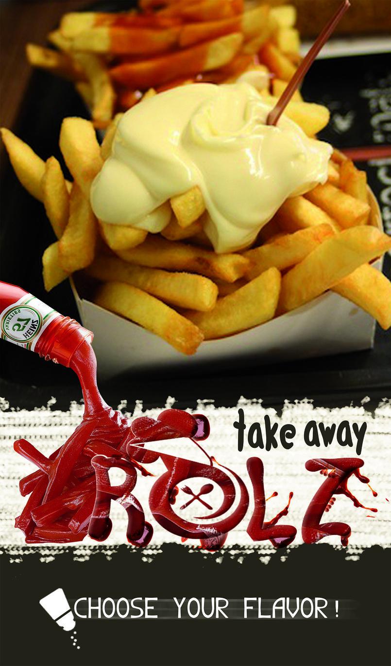 حملة إعلانية لمطعم وجبات سريعة